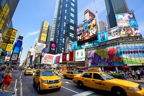 Shopping i udlandet, shopping i New York